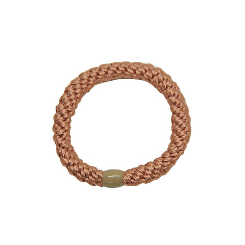 Kknekki Snag Free Hair Band in Peach Coral by Bon Dep - Junior Edition