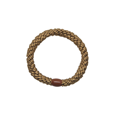 Kknekki Snag Free Hair Band in Taupe by Bon Dep - Junior Edition