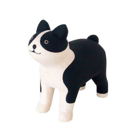 Boston Terrier - Polepole Wooden Animal by T-Lab - Junior Edition