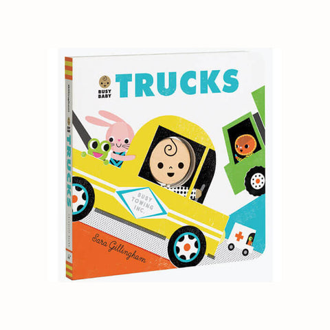 Busy Baby: Trucks by Sara Gillingham - Junior Edition