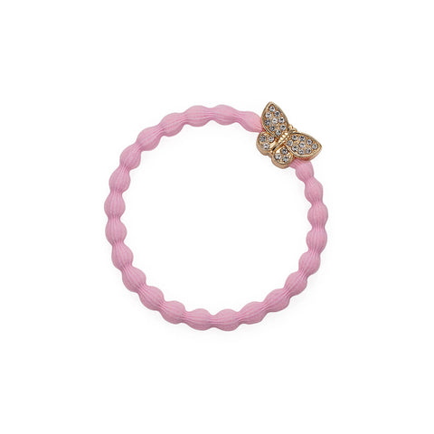 Bling Butterfly Hair Band in Soft Pink by byEloise