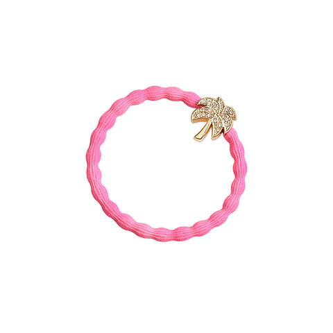 Palm Tree Hair Band in Neon Pink by byEloise