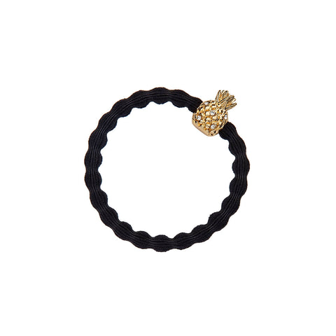 Pineapple Hair Band in Black by byEloise