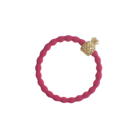 Pineapple Hair Band in Fuschia by byEloise