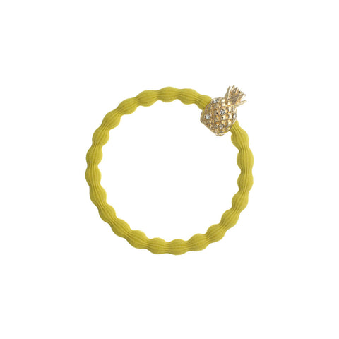 Pineapple Hair Band in Sunshine Yellow by byEloise