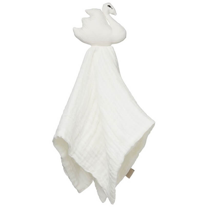 Swan Cuddle Cloth in Off White by Cam Cam Copenhagen - Junior Edition