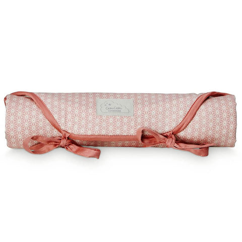 Travel Changing Mat in Sashiko Blush by Cam Cam Copenhagen - Junior Edition
