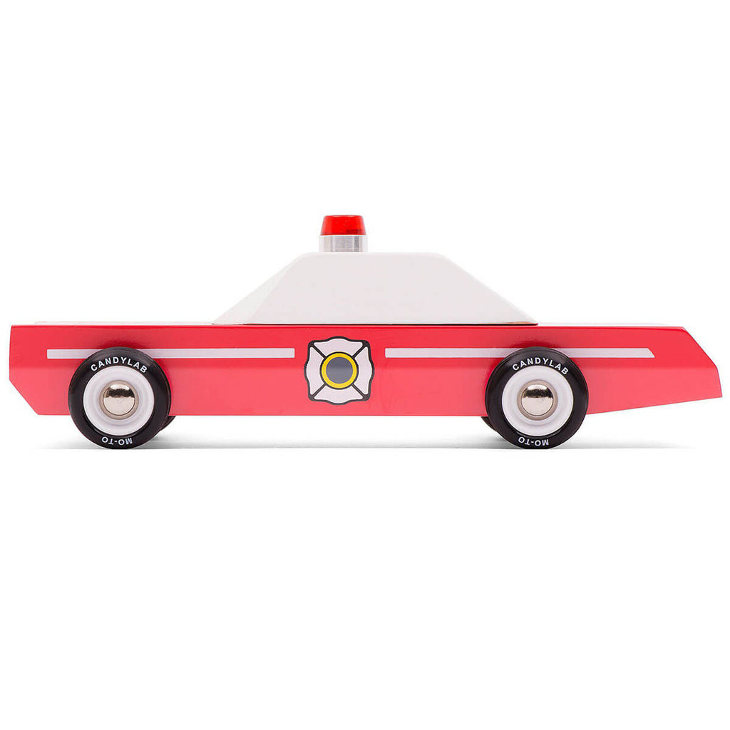 Fire Chief Vehicle By Candylab Toys - Junior Edition