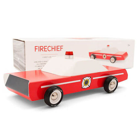 Fire Chief Vehicle By Candylab Toys