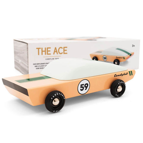 Ace Racing Car By Candylab Toys