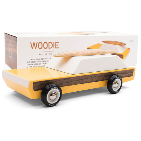 Woodie Car By Candylab Toys - Junior Edition
