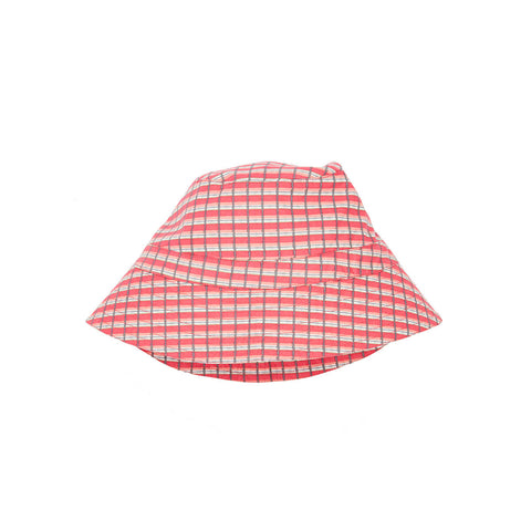 Wembley Hat in Red Painted Check by Caramel
