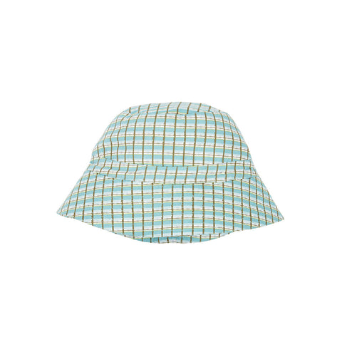 Wembley Hat in Tourmaline Painted Check by Caramel