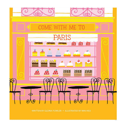 Come With Me To Paris by Gloria Fowler & Min Heo - Junior Edition  - 1