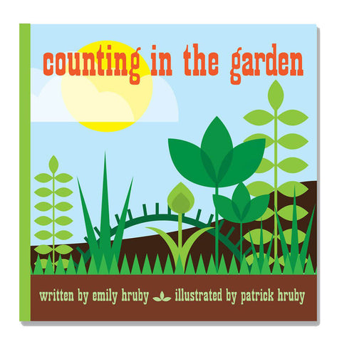 Counting In The Garden by Patrick & Emily Hruby - Junior Edition  - 1