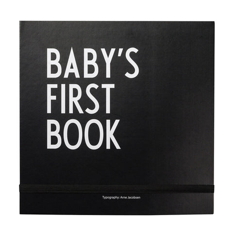 Arne Jacobsen ABC Baby's First Book in Black by Design Letters - Junior Edition