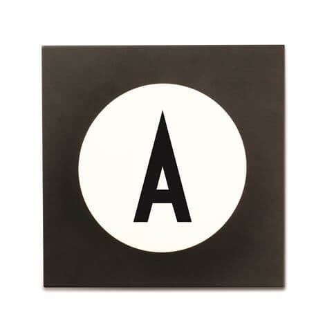 Arne Jacobsen Personal Initial A-Z Hook by Design Letters - Junior Edition
