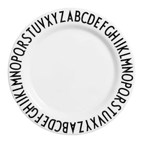 Arne Jacobsen ABC Melamine Plate by Design Letters
