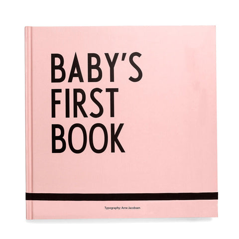 Arne Jacobsen ABC Baby's First Book in Pink by Design Letters - Junior Edition