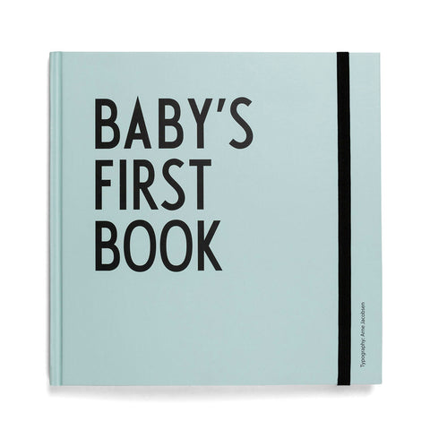 Arne Jacobsen ABC Baby's First Book in Turquoise by Design Letters - Junior Edition