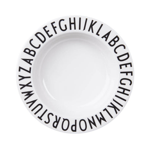 Arne Jacobsen ABC Melamine Deep Plate by Design Letters - Junior Edition  - 1