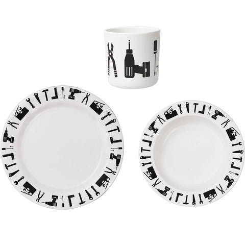 Tool School Melamine Set by Design Letters - Junior Edition