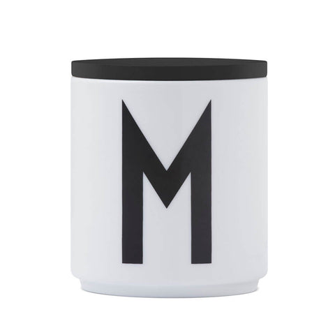 Arne Jacobsen Black Wooden Lid for Porcelain Cup by Design Letters