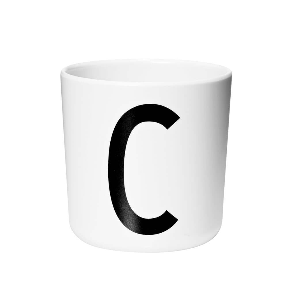 Arne Jacobsen Personal Initial A-Z Melamine Cup by Design Letters - Junior Edition  - 3