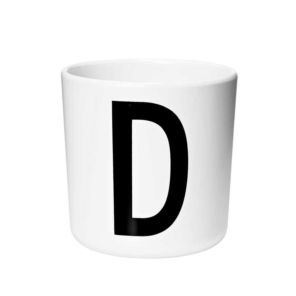 Arne Jacobsen Personal Initial A-Z Melamine Cup by Design Letters - Junior Edition  - 4