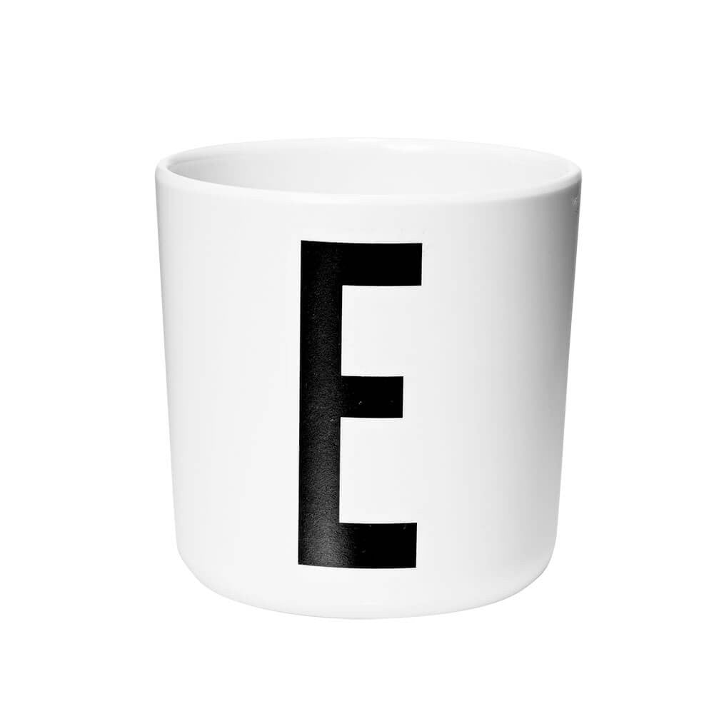 Arne Jacobsen Personal Initial A-Z Melamine Cup by Design Letters - Junior Edition  - 5