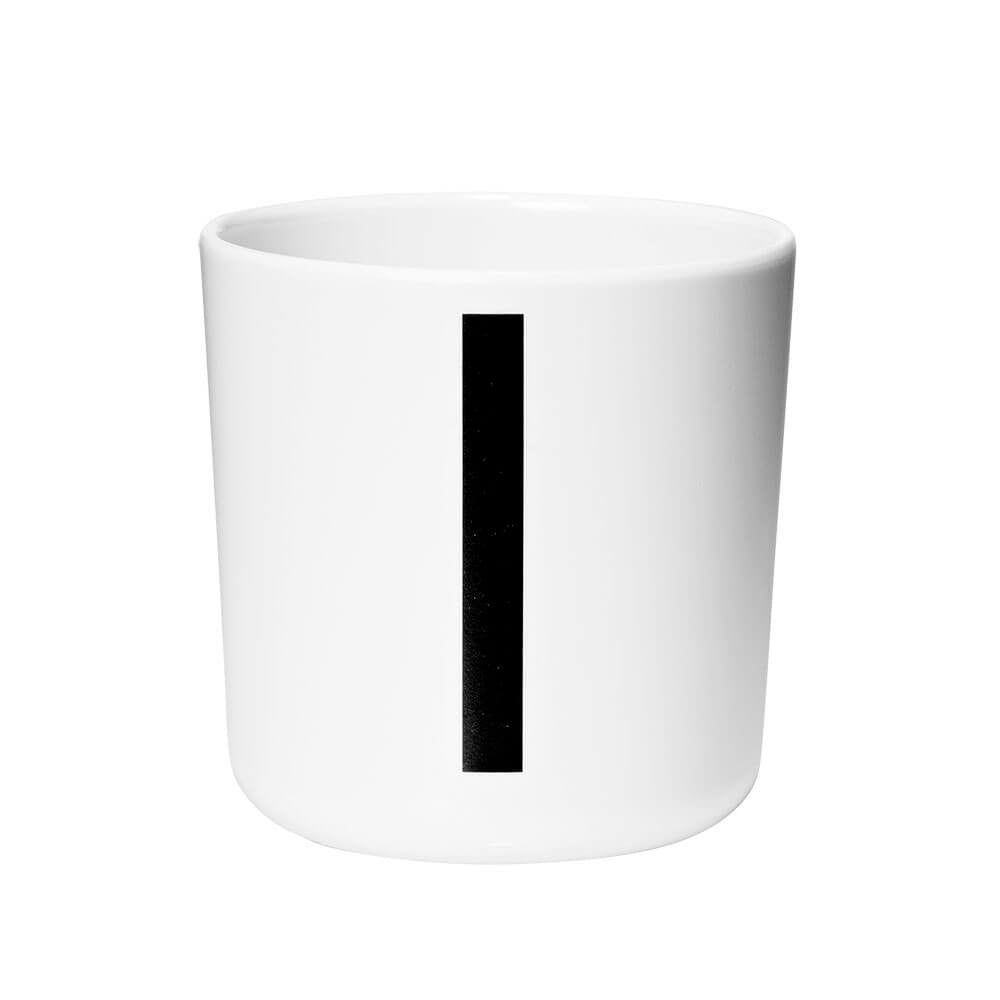 Arne Jacobsen Personal Initial A-Z Melamine Cup by Design Letters - Junior Edition  - 9