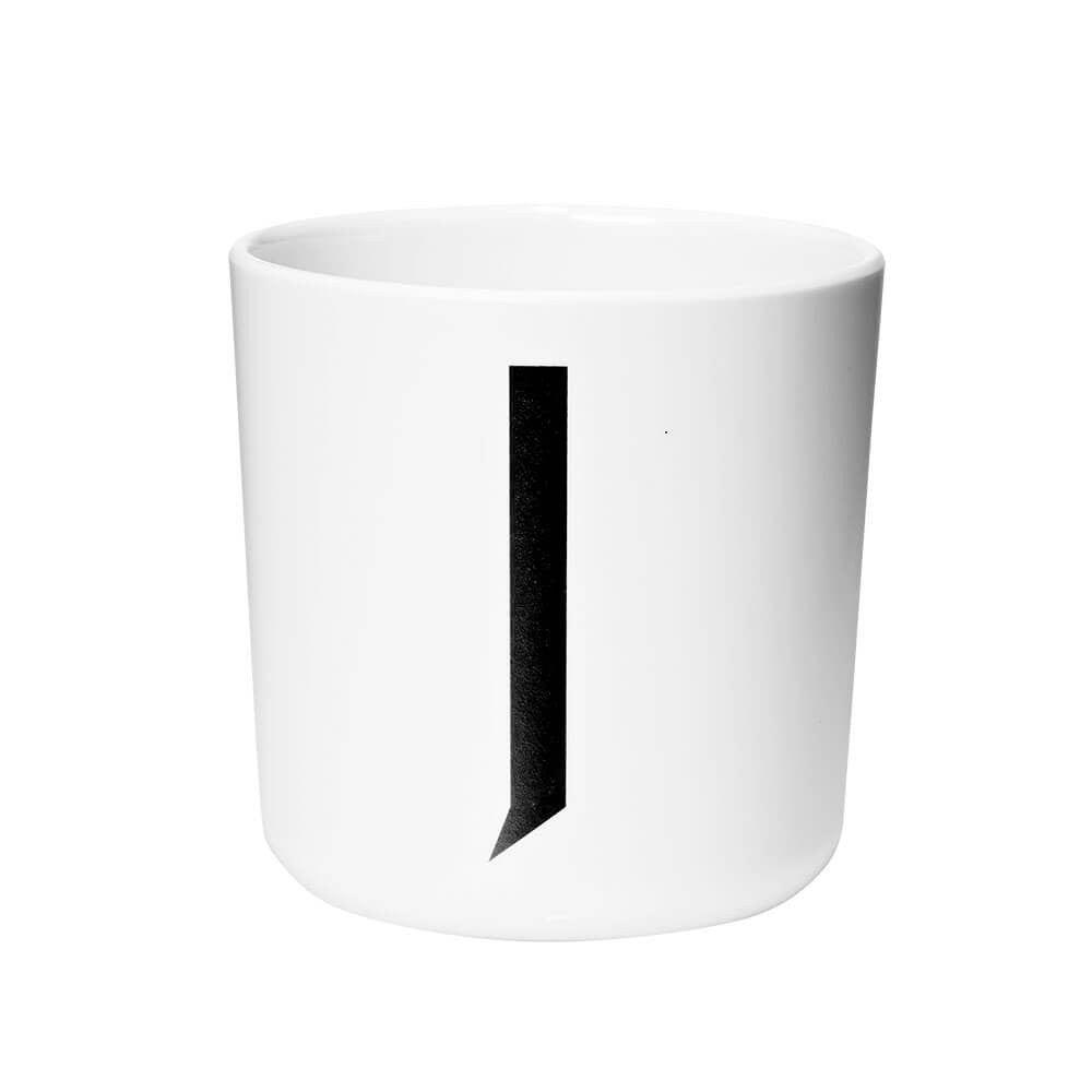 Arne Jacobsen Personal Initial A-Z Melamine Cup by Design Letters - Junior Edition  - 10
