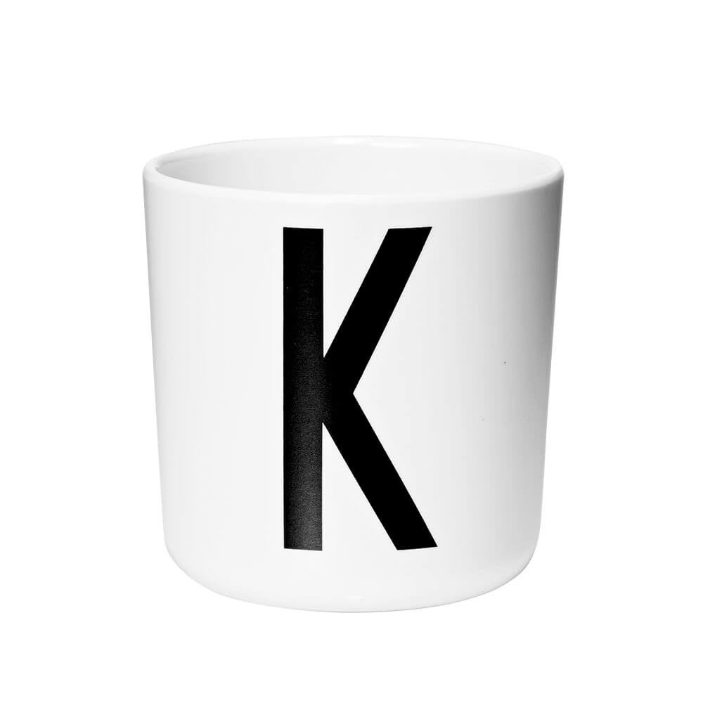Arne Jacobsen Personal Initial A-Z Melamine Cup by Design Letters - Junior Edition  - 11