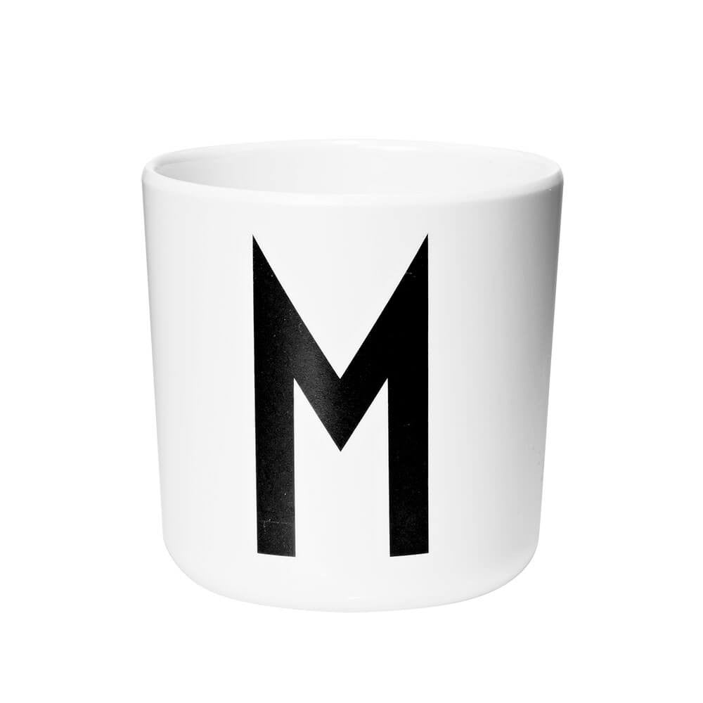 Arne Jacobsen Personal Initial A-Z Melamine Cup by Design Letters - Junior Edition  - 13