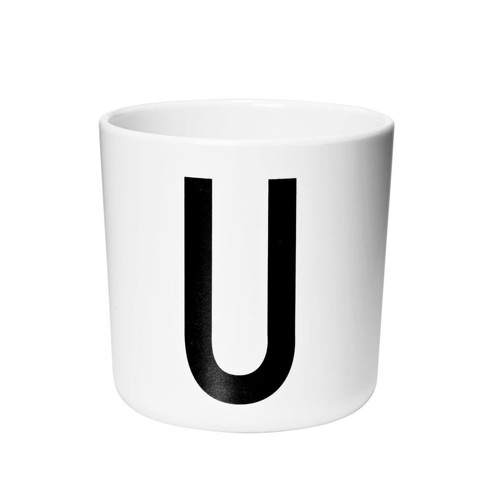 Arne Jacobsen Personal Initial A-Z Melamine Cup by Design Letters - Junior Edition  - 21