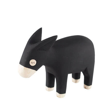 Donkey - Polepole Wooden Animal by T-Lab - Junior Edition