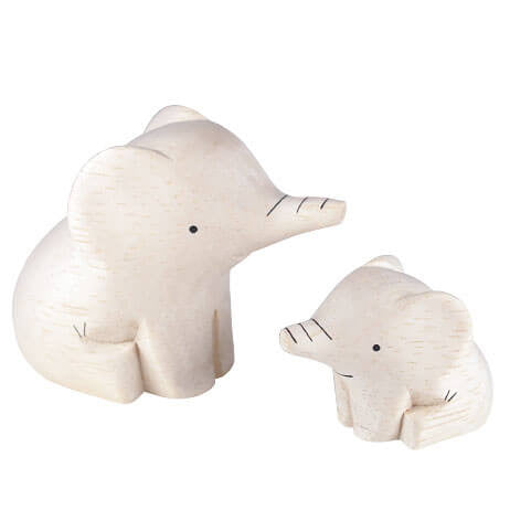 Elephant Family - Polepole Wooden Oyako by T-Lab - Junior Edition