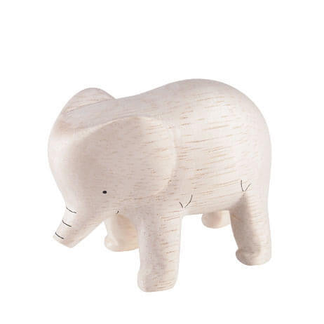 Elephant - Polepole Wooden Animal by T-Lab - Junior Edition