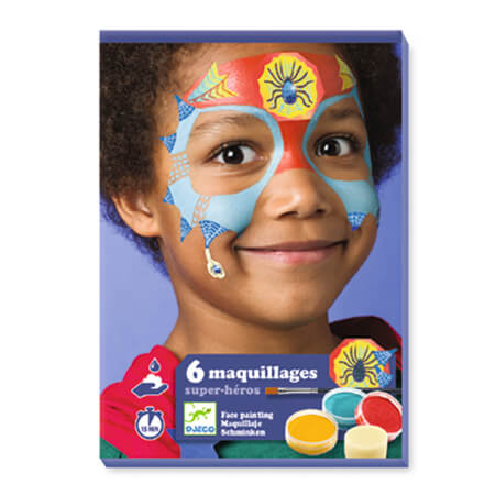 Superhero Face Paint Set by Djeco