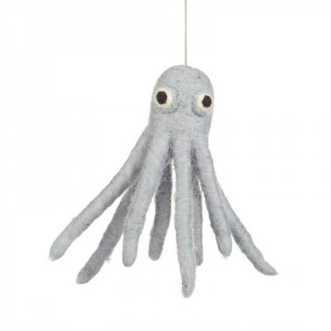 Octopus Tree Decoration by Felt So Good - Junior Edition