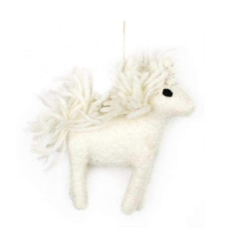 Unicorn Tree Decoration by Felt So Good