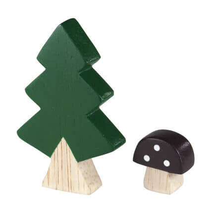 Fir Tree - Polepole Wooden Komono by T-Lab - Junior Edition