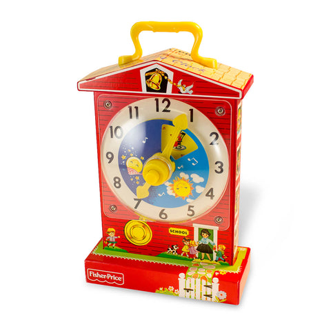 Fisher Price Classic Teaching Clock / Music Box