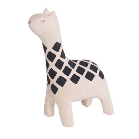 Giraffe - Polepole Wooden Animal by T-Lab - Junior Edition