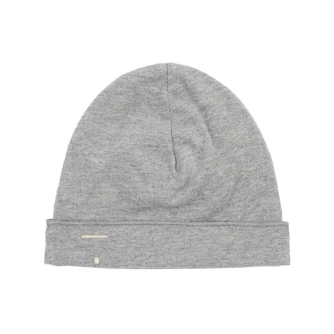Grey Melange Baby Beanie by Gray Label - Junior Edition
