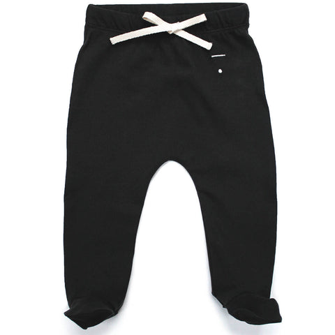 Baby Footies in Nearly Black by Gray Label - Junior Edition