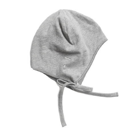 Baby Hat in Grey Melange by Gray Label - Junior Edition