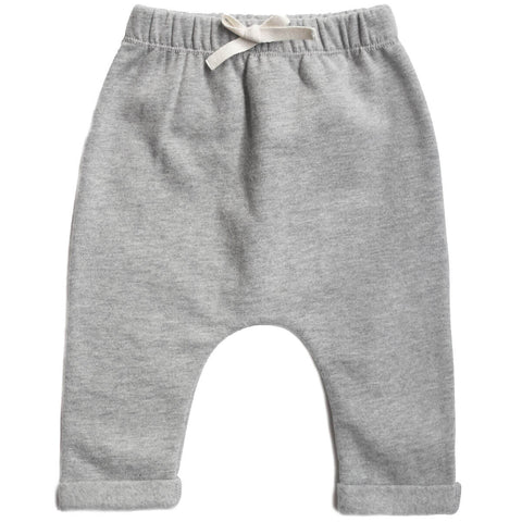 Baby Pants in Grey Melange by Gray Label - Junior Edition