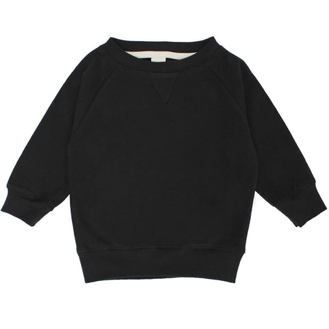 Nearly Black Crew Neck Sweater by Gray Label - Junior Edition