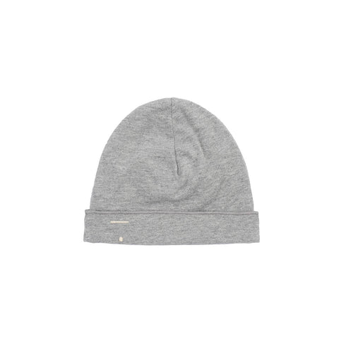 Baby Beanie in Grey Melange by Gray Label - Last One In Stock - 6-12 Months - Junior Edition